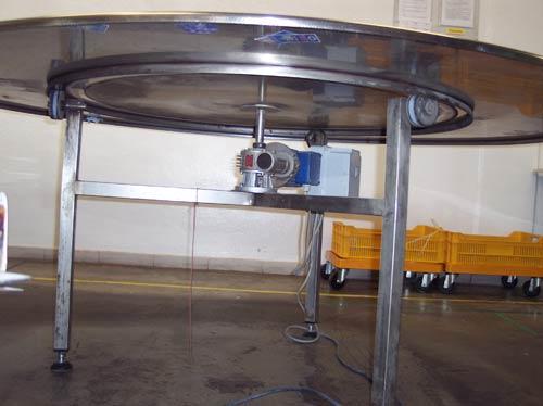 Tavolo rotante clempi impianti industriali - Meccanismo rotante per tavolo ...